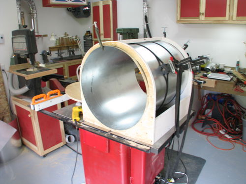 Home Made Cyclone Dust Collector By Letrusquin