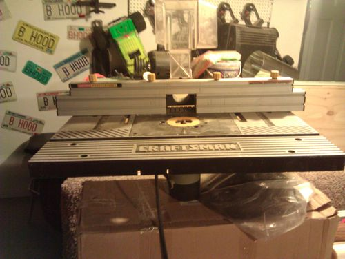 Porter cable 690 and craftsman proffesional router table by porter cable 690 1 34 hp fixed base router with a craftsman professional router table that is no longer in production the table cost me 300 new it has a keyboard keysfo Images