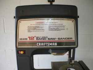 Is this a good value bandsaw craftsman by jimleigh1313 for sale a 12 craftsman stand up bandsaw does need a saw blade other than that it is in perfect working order stands about 45 feet tall keyboard keysfo Choice Image