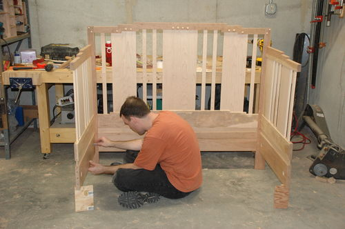 baby cradle assembly instructions