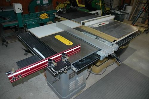 All Replies on Table saw HELP new unisaw or old Powermatic