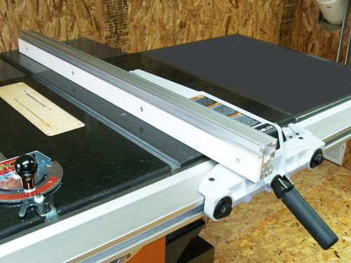 Decked Out Ridgid Model R4511 Table Saw 5 Upgraded Rip