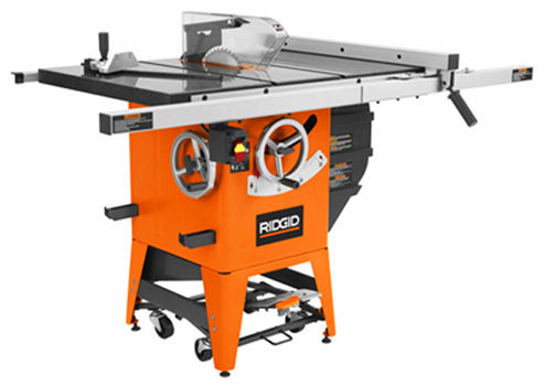 Decked out ridgid model r4511 table saw 12 the unveiling for 12 inch ridgid table saw
