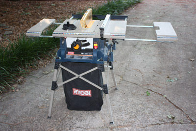 Review ryobi table saw model rts20 by trevbatstone it did cut wood well for being a universal motor but it wasnt too long before i upgraded heres what mine looked like keyboard keysfo Choice Image