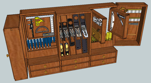 I wanna build a GIANT tool cabinet!