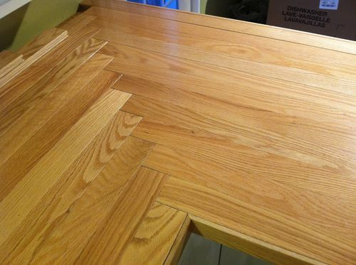 Butcher Block Or Oak Wood Countertop By Cdbridge39