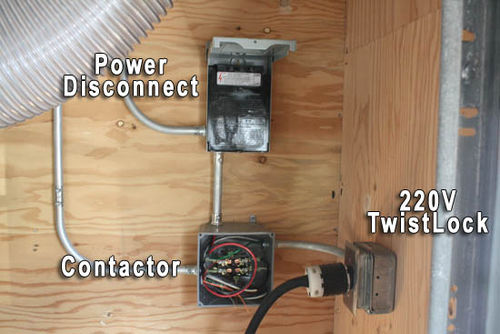 Remote switching of large dust collector by toddinnh i have a 3 way or 4 way switch located at every workstation table saw miter saw drill press band saw planer jointer etc keyboard keysfo Gallery