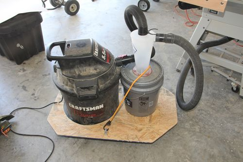 Hook Up Shop Vac To Table Saw