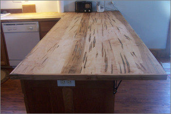 Wormy Maple Countertop - by bruc101 @ LumberJocks.com ...