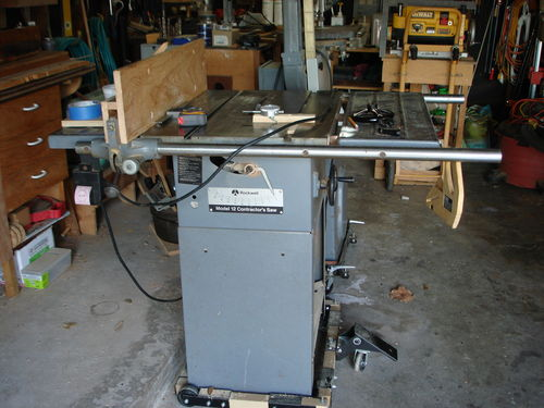 12 Rockwell Contractors Table Saw By Madts Lumberjocks