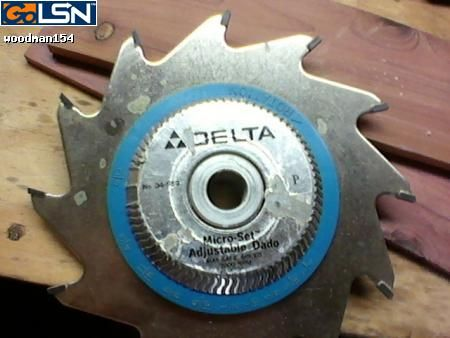 Dado saw blade and craftsman belt sander by vman154 for 10 dado blade for table saw
