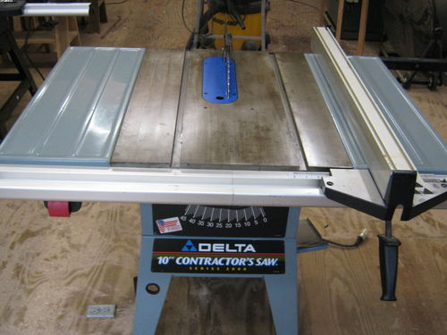 Delta 10 contractor table saw for sale by wdhlt15 for 10 delta table saw price
