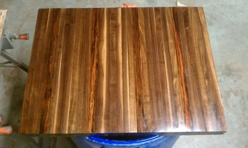 Butcher Block Kitchen Counter Top Finish By Garageguy