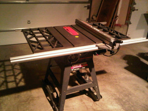 Contractor Table Saw Dust Collection By Hhhopks At Lumberjocks