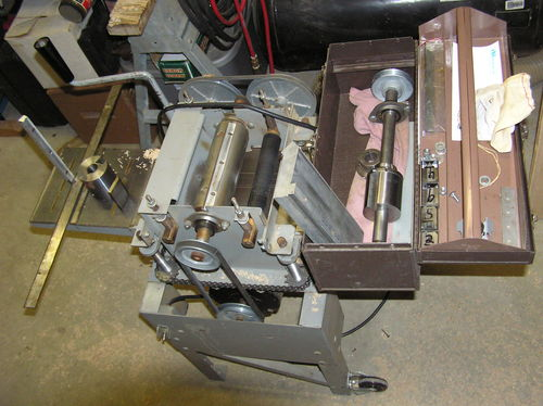 RB INDUSTRIES Model 408 planer /molder - by hydrohillbilly ...
