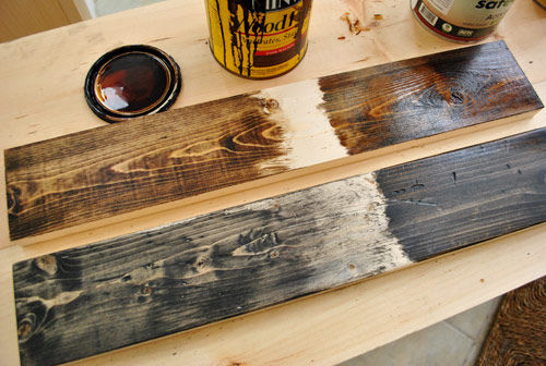 3 replies so far - What's The Method Of A Rustic Wood Stain Technique? - By Rough_cut