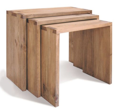 Help with dovetailed box joint nesting tables by tool for Table joints