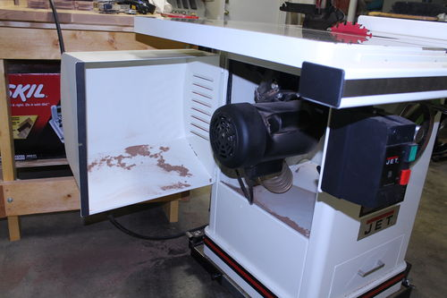 Review: Jet Cabinet Saw - by Cato @ LumberJocks.com ~ woodworking ...