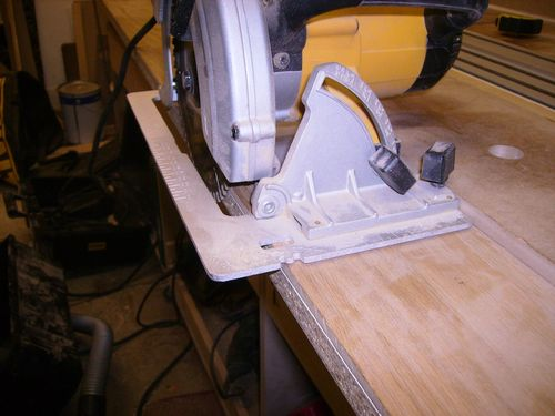 Straight Edge Guide For Circular Saw By Peter