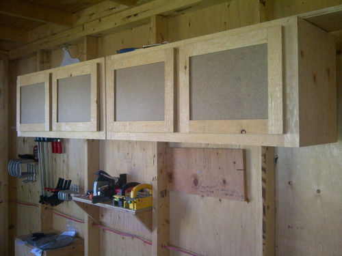 Out In The Shop 1 Upper Shop Cabinets By