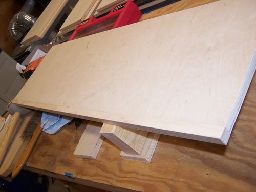 Edges on birch plywood  Do they need to be edge banded if going to