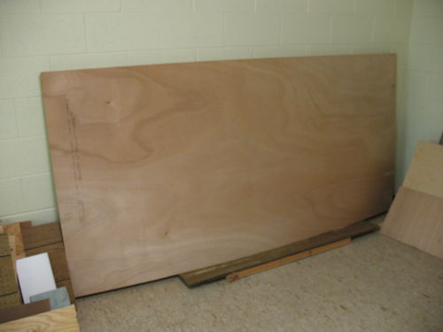 4 Sheets Of Bs1088 4mm Thick Okoume Marine Plywood By Retrowood