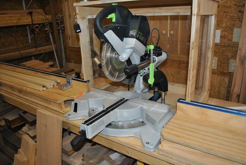 Succesful Sliding Miter Saw Dust Colection By B2rtch