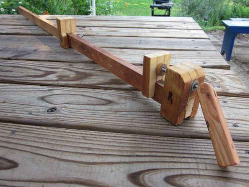 Shop built clamps by dave rutan for Timber decking seconds