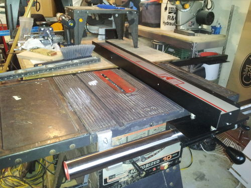 All replies on craftsman table saw rehab lumberjocks new vega pro 40 greentooth Choice Image