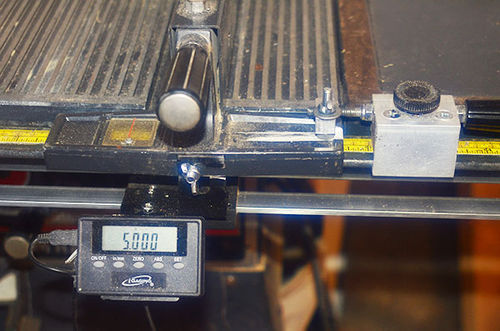 Tablesaw tape is inaccurate bad setup or just need new tape by the digital readout display and sensor is attached to the rip fence with a wing nut and can be detached very easily the aluminum thingy with black knob on greentooth Image collections