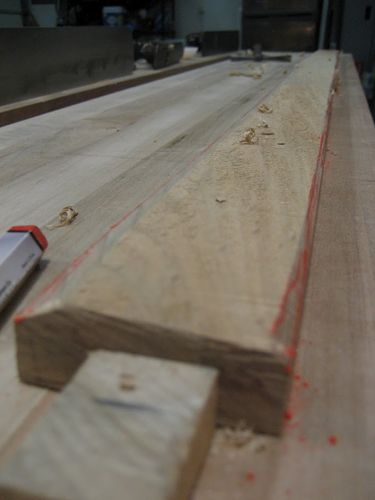 Split roubo workbench 17 getting ready for assembly by for 4 8 meter decking boards