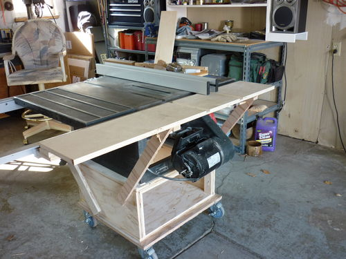 Outfeed Table For Craftsman 113 Ts By Oldretiredjim