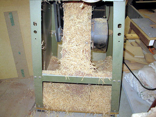 Grizzly Jointer Chip Box 1 Grizzly Jointer Chip Catcher