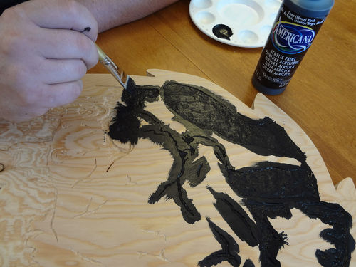 Carving Using A Scroll Saw Pattern #1: The Simple Steps and