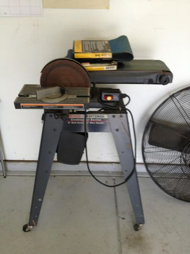 craftsman belt and disc sander. here are 2 more pictures of the sander. i talked him down to $65. what do you think? if it runs good is worth it, or should keep looking? craftsman belt and disc sander m