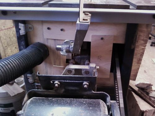 Improved Dust Collection For Contractor Style Table Saw   By Rmoore @  LumberJocks.com ~ Woodworking Community