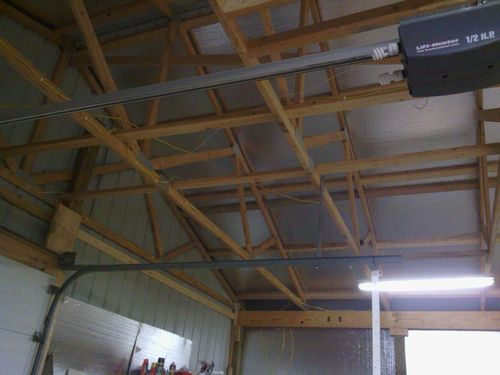 ceiling storage in a pole barn   how much is too much? - by