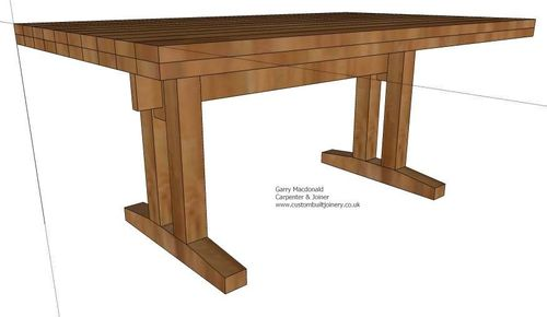 Building an oak dining room table #1: It begins.... - by ...