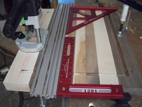 How To Route A Design In A Mdf Cabinet Door By Sailor
