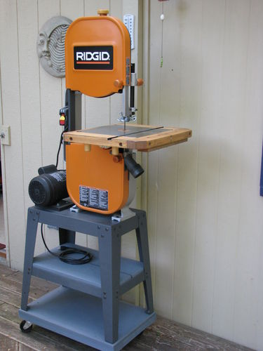 Ridgid 14 In Bandsaw R474 The Home Depot Review Ridgid