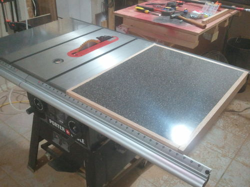 Pcb270ts Table Saw Extension Wing Laminate By Jsb