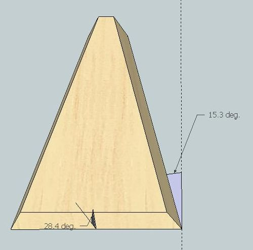 how to accurately draw a 45 degree line on sketchup