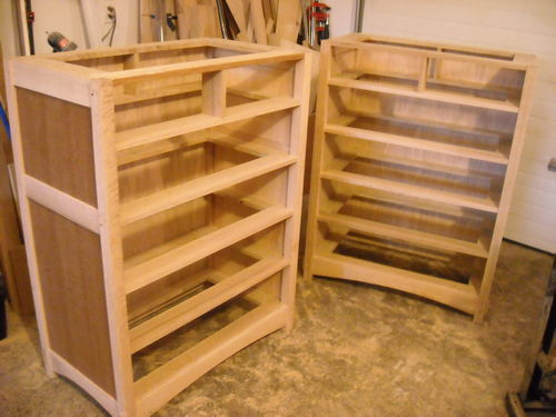 Arts and Crafts 6 Drawer Dresser #7: Clamshell Biscuits ...