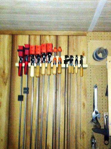 wood clamps lowes. well, with the hd gift card i bought 4ea 48\u201d jorgesson clamps and 2ea 36\u201d clamps. lowes 50\u201d wood