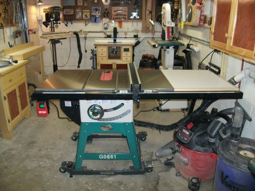 Review My New G0661 Table Saw By Kdc68 Lumberjocks