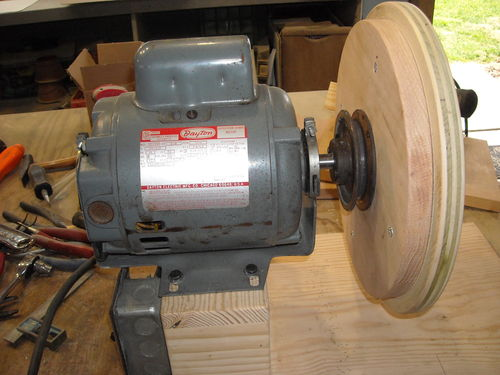 Disc sander ... plan B ... or is it C? #1: Disc sander - Temporarily on homemade thickness sander plans, homemade drum sander parts kits, homemade pipe sander plans, homemade lathe compound feed, homemade wood sander machine for, homemade edge sander plans, homemade spindle sander plans,