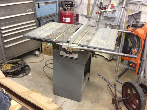 Rockwell Model 10 Contractors Table Saw 100 By
