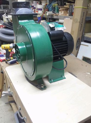 Dust Collector Blower : New harbor freight dust collector by mt stringer