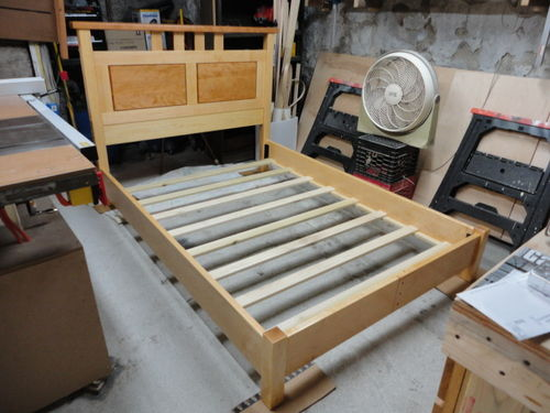 Bed Frame Construction By Chris P Lumberjocks Com