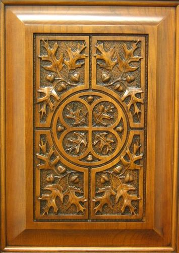Is it art or bland tasteless cnc carving by underdog for Take door designs